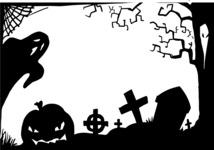 Halloween Frame Silhouette