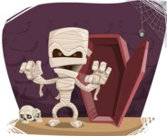 Mummy Out of Coffin