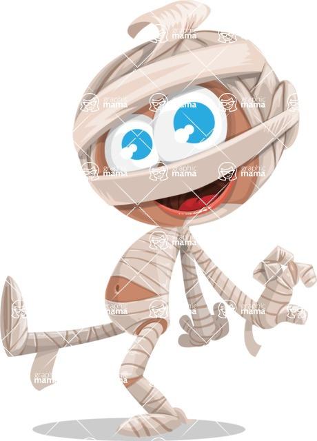 Halloween vector pack - Cute Mummy Baby
