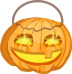 Halloween vector pack - Carved Halloween Pumpkin