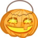 Halloween vector pack - Carved Halloween Pumpkin