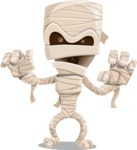 Halloween vector pack - Scary Mummy