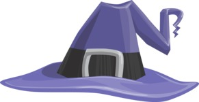 Halloween vector pack - Witch Hat