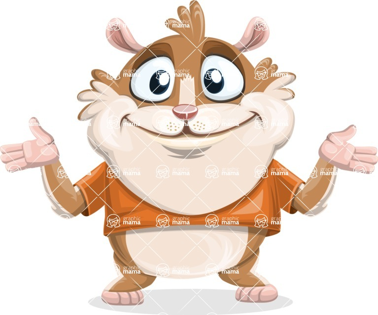 Bean McRound The Smiling Hamster - Sorry