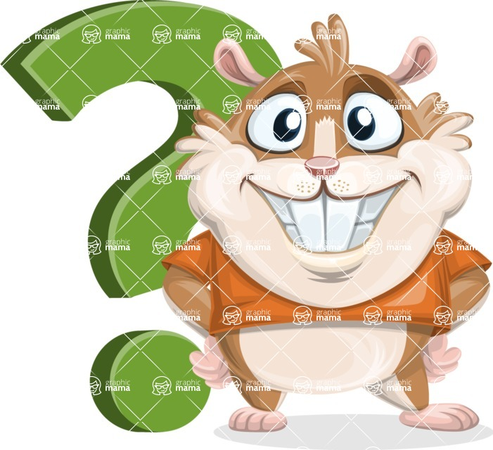 Bean McRound The Smiling Hamster - Question