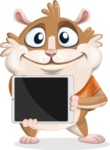 Bean McRound The Smiling Hamster - iPad 2