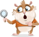 Hamster Cartoon Vector Character AKA Bean McRound - Search