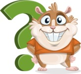 Hamster Cartoon Vector Character AKA Bean McRound - Question