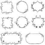 Vector Hand Drawn Elements Mega Bundle - Graphic 40