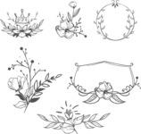 Vector Hand Drawn Elements Mega Bundle - Graphic 43
