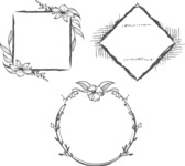 Vector Hand Drawn Elements Mega Bundle - Graphic 45