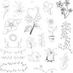 Vector Hand Drawn Elements Mega Bundle - Graphic 61