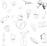Vector Hand Drawn Elements Mega Bundle - Graphic 65