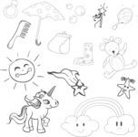 Vector Hand Drawn Elements Mega Bundle - Graphic 68