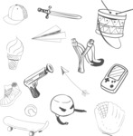 Vector Hand Drawn Elements Mega Bundle - Graphic 69
