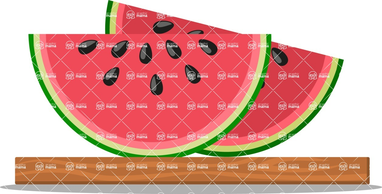 Health & Diet: Overweight People - Watermelon Slices