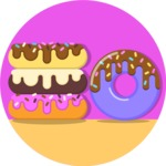 Gym and Diet Vectors - Mega Bundle - Donuts