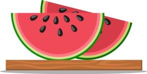 Gym and Diet Vectors - Mega Bundle - Watermelon Slices