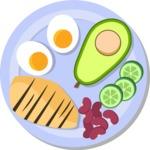 Gym and Diet Vectors - Mega Bundle - Healthy Meal