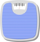 Health & Diet: Overweight People - Weight Body Scale