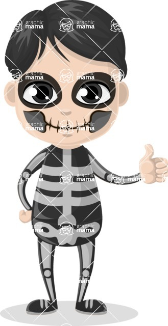 Halloween Characters Graphic Maker - pose 11
