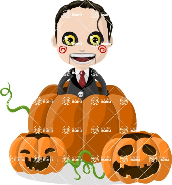 Halloween Characters Graphic Maker - pose 13