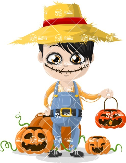 Halloween Characters Graphic Maker - pose 19