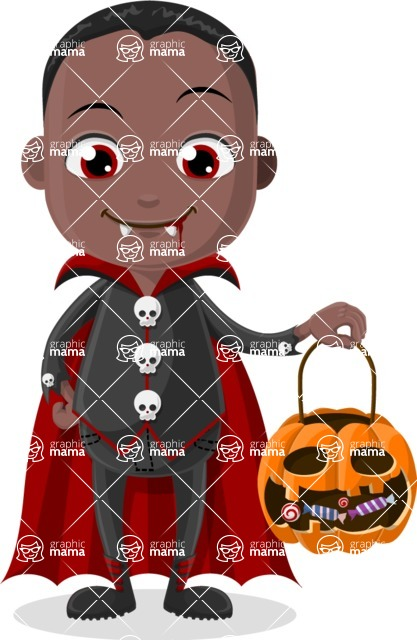Halloween Characters Graphic Maker - pose 2