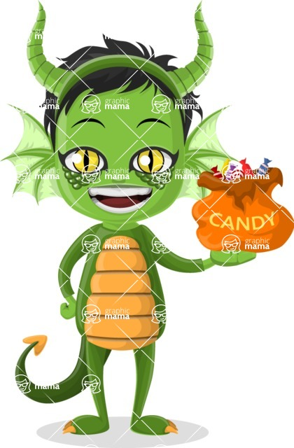 Halloween Characters Graphic Maker - pose 26