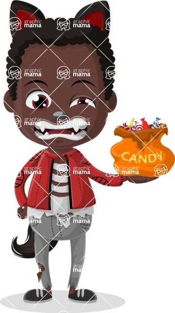 Halloween Characters Graphic Maker - pose 32