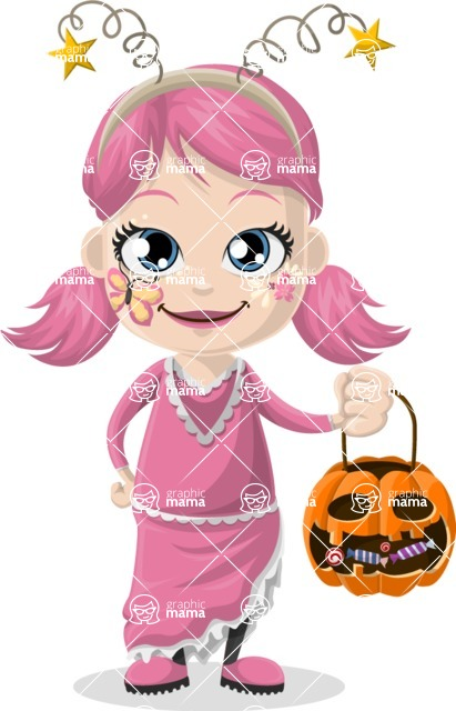 Halloween Characters Graphic Maker - pose 33