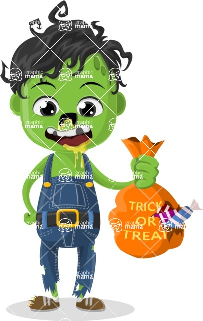 Halloween Characters Graphic Maker - pose 36