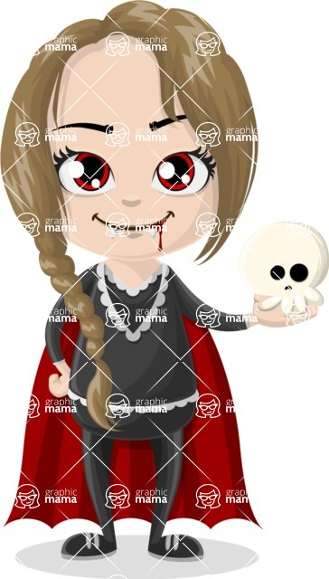 Halloween Characters Graphic Maker - pose 39