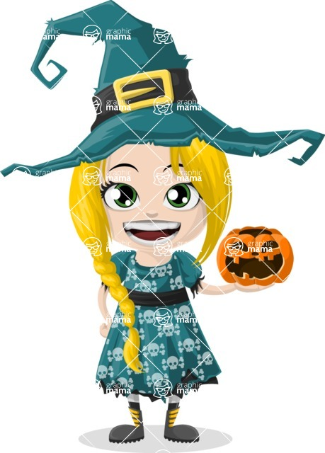 Halloween Characters Graphic Maker - pose 4