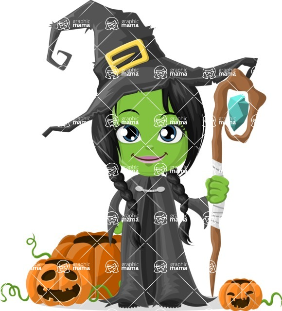Halloween Characters Graphic Maker - pose 45