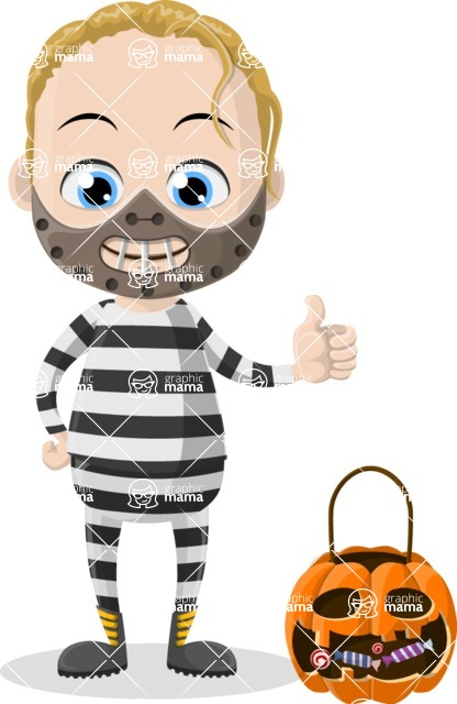 Halloween Characters Graphic Maker - pose 46