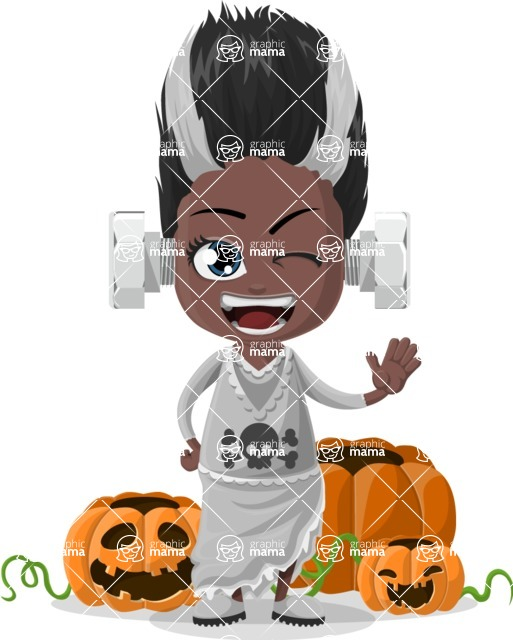 Halloween Characters Graphic Maker - pose 5