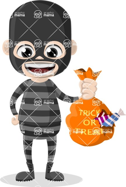 Halloween Characters Graphic Maker - pose 55