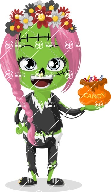 Halloween Characters Graphic Maker - pose 56
