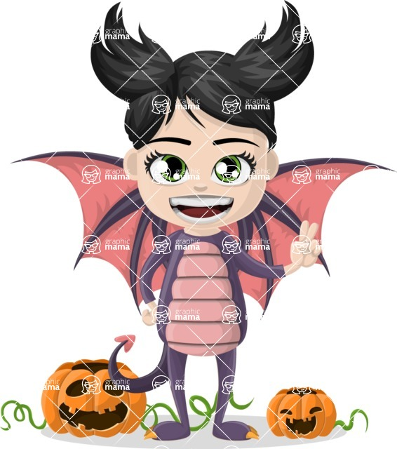 Halloween Characters Graphic Maker - pose 58