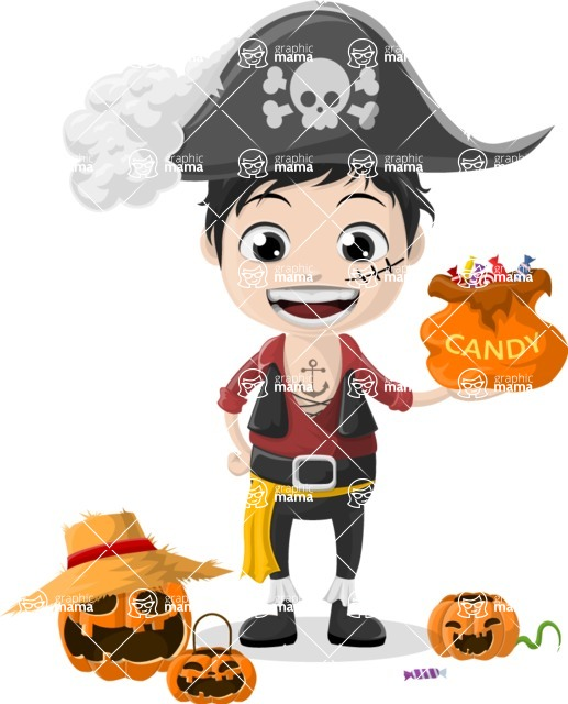 Halloween Characters Graphic Maker - pose 6