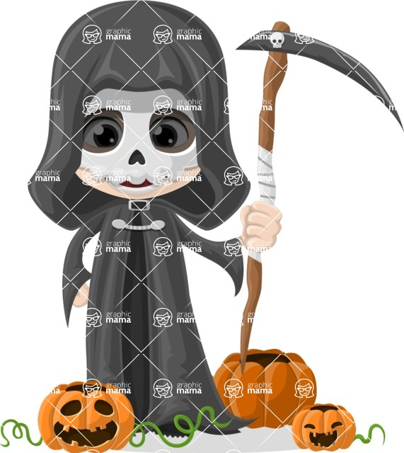 Halloween Characters Graphic Maker - pose 64
