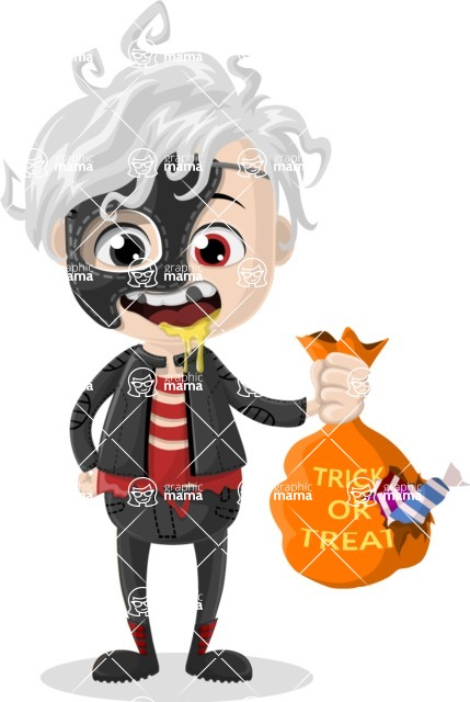 Halloween Characters Graphic Maker - pose 65