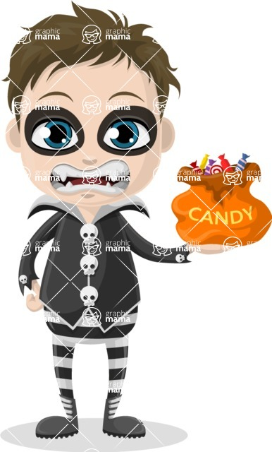 Halloween Characters Graphic Maker - pose 68