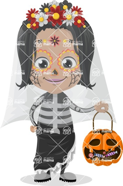Halloween Characters Graphic Maker - pose 7