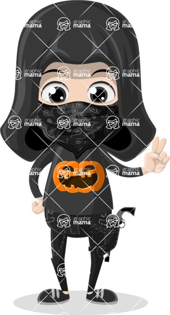 Halloween Characters Graphic Maker - pose 71