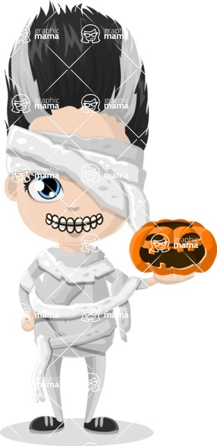Halloween Characters Graphic Maker - pose 73