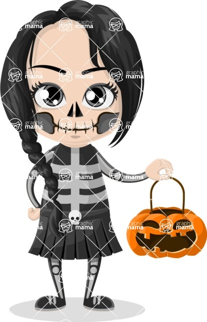 Halloween Characters Graphic Maker - pose 74