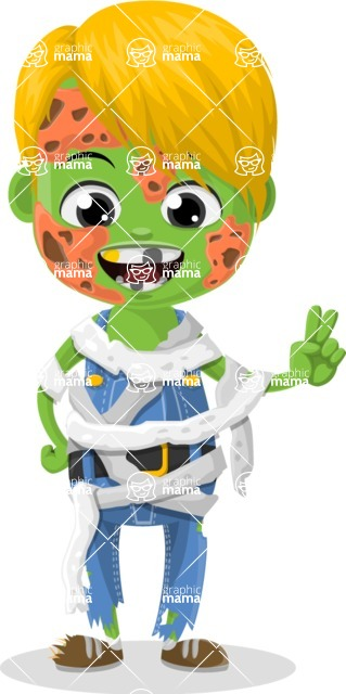 Halloween Characters Graphic Maker - pose 75