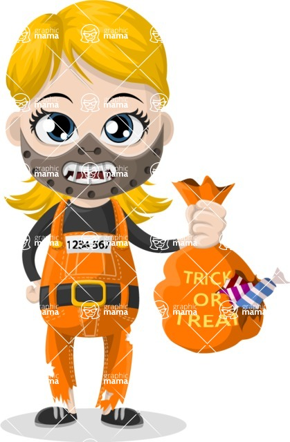 Halloween Characters Graphic Maker - pose 78